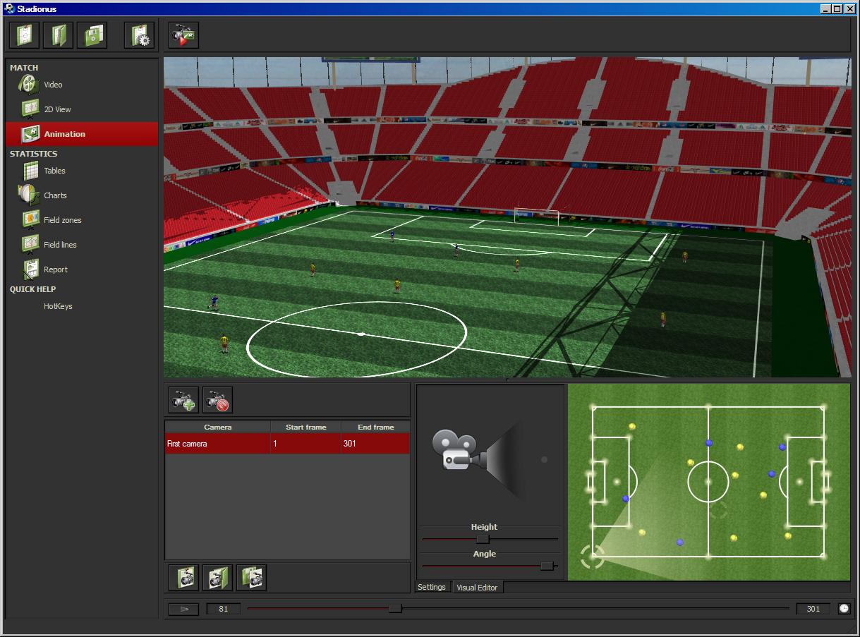 Stadionus screenshot